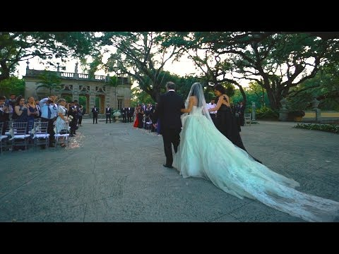 Amazing Wedding at Vizcaya Museum // Alina + Roupen