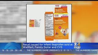 Infant Ibuprofen Sold At CVS, Walmart, Family Dollar Recalled