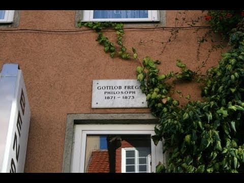 🔴 Friedrich Ludwig Gottlob Frege • Philosoph • 1871 - 1873 • Rote Straße 32 ~ Göttinger Gedenktafel