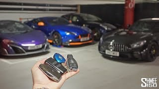 I Drove All My Cars on One Day! | GARAGE