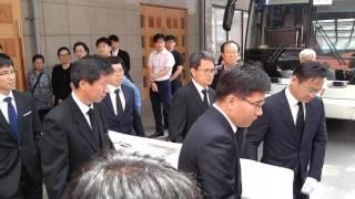 서울성모병원 장례식장에서 발인