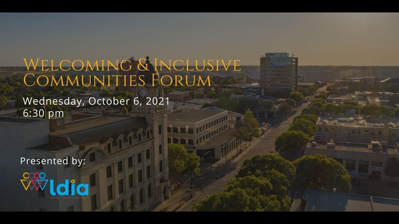 Welcoming & Inclusive Communities Forum