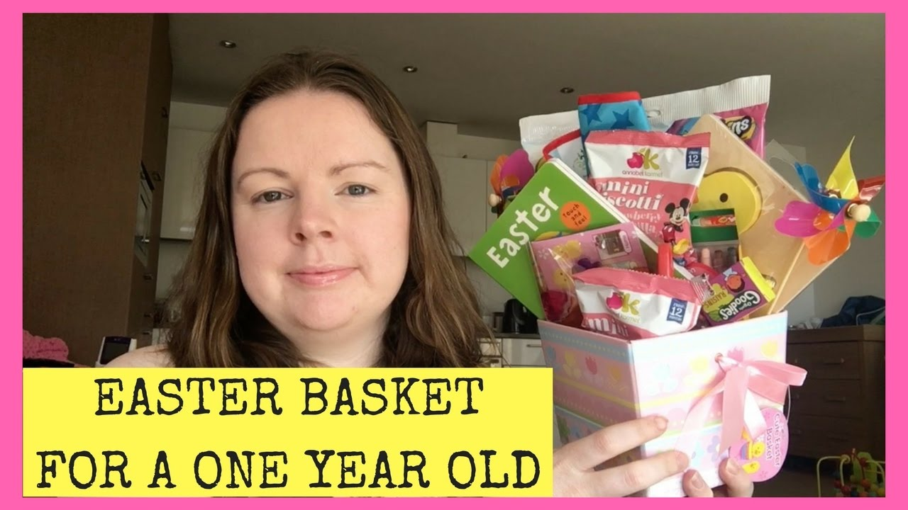 Easter basket for a one year old youtube easter basket for a one year old negle Images