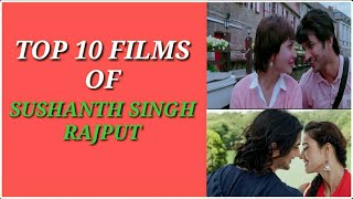 Top 10 most famous movies of  Sushanth Singh Rajput || We miss you ||Sushanth Singh Rajput