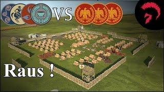 Total War Rome 2 | Aus Britannien vertrieben | Battle #190 | German