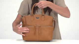 dooney bourke dillen double pocket satchel 6l224