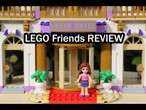 Lego Friends Heartlake Grand Hotel Review Set 41101 Youtube