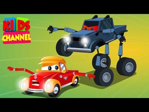 Super Car Royce   the super Villain   cartoon cars   Episode 2