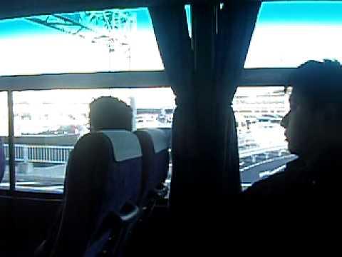 Departure from Narita to Makuhari Messe