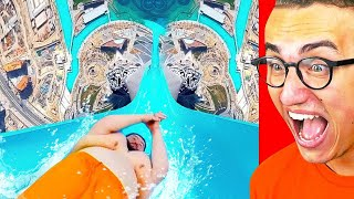 Reacting To THE FUNNIEST WATER PARK FAILS! Video