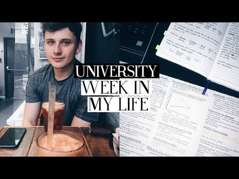 university week in my life #17: so much exam prep & book haul | Caitlin Rose