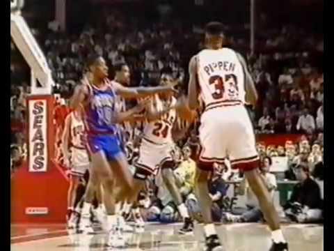 1991 05 19 Eastern Conference Finals Game 1 Detroit Pistons vs Chicago Bulls