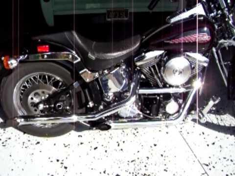 99 Harley Davidson FXSTS Softail Springer Idling