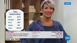 HSN | The Big Find - Brittany Humble Fashions 06.17.2021 - 05 AM