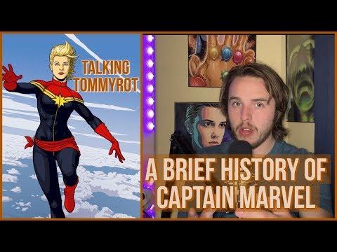 A Brief History Of Captain Marvel (Carol Danvers)