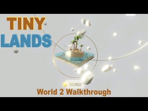 Tiny Lands - World 2 (Water) Walkthrough (Steam/PC) |