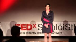 A néma műsorvezető: Judit Nagy at TEDxSomloiStWomen