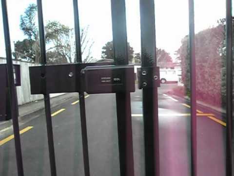 Electronic Auto Gate Lock Youtube