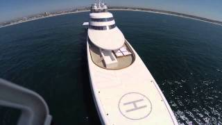 Drones Eye View Of Superyacht A