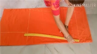 Loose Palazzo cutting with very Easy Way || Reet Designs