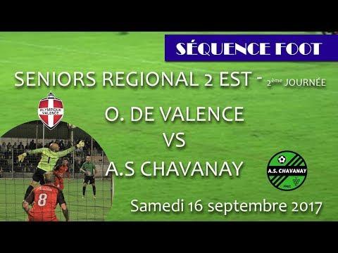 Sequence Foot   Championnat SR2 2ème journée   OV vs Chavanay