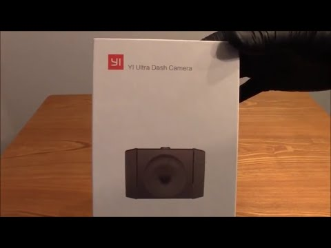 Unboxing The Yi Ultra Dash Camera With High Definition Video And Voice Control With Wi-Fi 802.11n