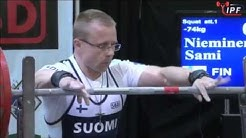 Sami Nieminen - 682.5kg 6th Place 74kg - IPF World Classic Powerlifting Championships 2016