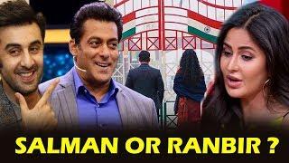 Katrina CHOOSES BEST BOYFRIEND Between Salman Or Ranbir , Salman-Katrina Kaif FIRST LOOK
