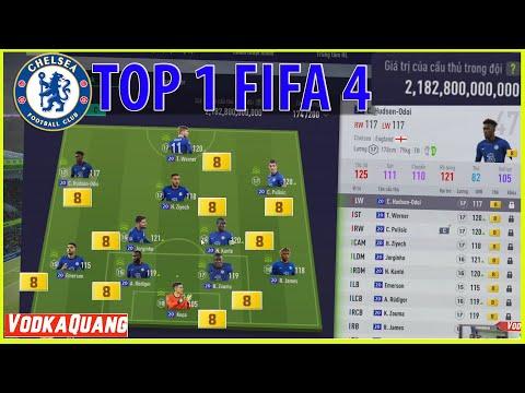 TOP Đội Hình FO4   Team Chelsea Top1 FIFA 4 2021 Dàn 20 UCL +8, ICON +5 chuẩn bị cho Chung Kết C1
