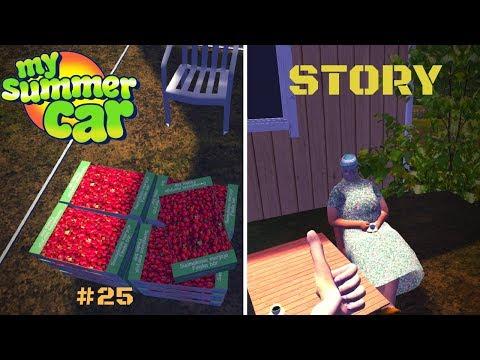 My Summer Car Story #25 - Stawberries - Grandma - Making Perfect Kilju