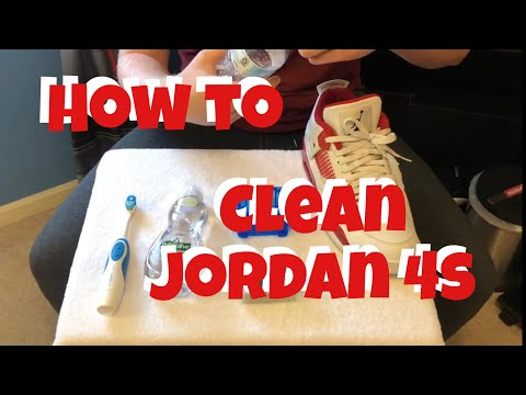 How to Clean Jordan 4s