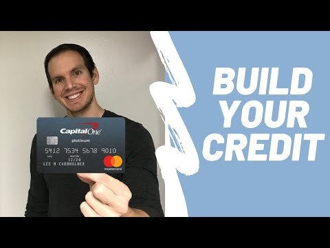 Capital One Platinum Credit Card Review | BEST Credit Card For Building Credit?