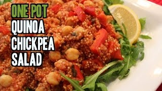 One Pot Mediterranean Quinoa And Chickpeas ($2/serving)