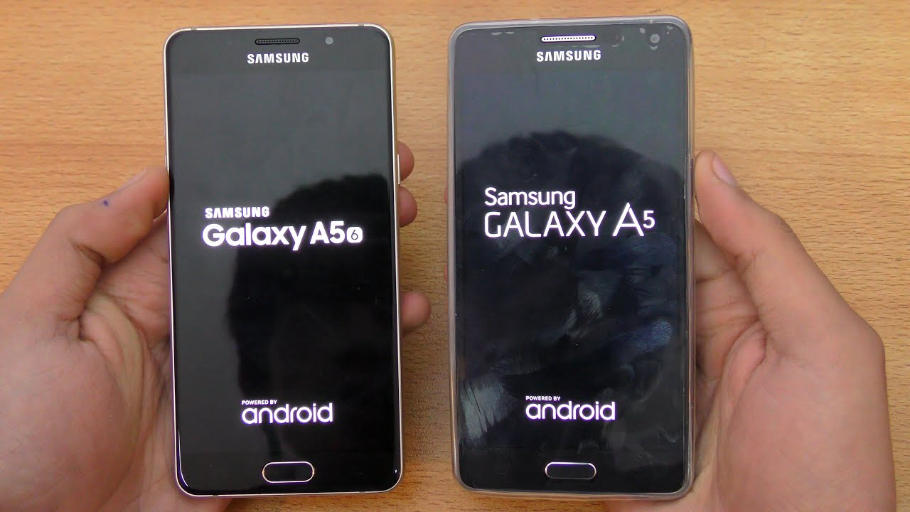 Samsung Galaxy A5 2016 Vs 2015