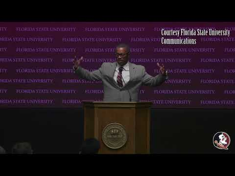 Willie Taggart Addresses Florida State Faculty