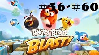 Angry Birds Blast Level 56-60 Gameplay Walkthrough