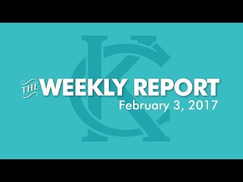 The Weekly Report - February 3, 2017 - City of Kansas City, Missouri