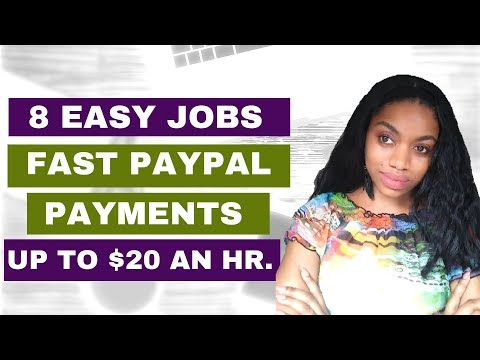 8 Easy Online Jobs- No Experience Necessary. (PayPal Payments)