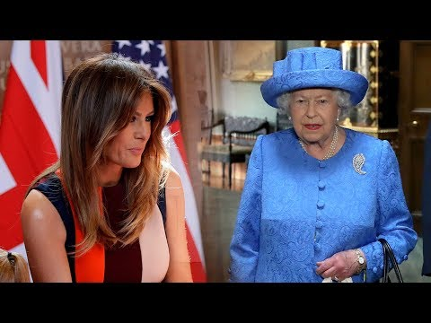 First Lady Melania talks about the meeting the Queen at Windsor Castle