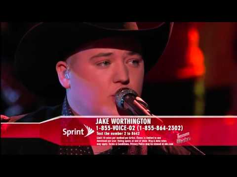Jake Worthington Sings America's Pick  'Don't Close Your Eyes' The Voice Highlight