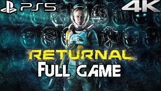 RETURNAL PS5 Gameplay Walkthrough FULL GAME (4K 60FPS) No Commentary