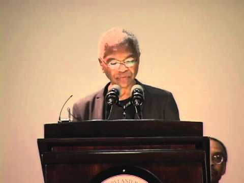 W.E.B Dubois Lecture: Dr. Mary Frances Berry