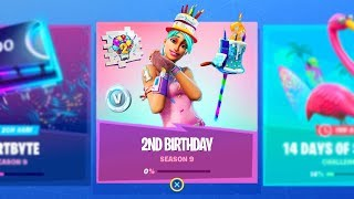 the New FREE BIRTHDAY ITEMS in Fortnite (5 FREE ITEMS)