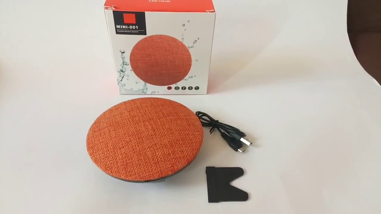 Колонка с блютузом mini 001 +USB флешка, карта памяти, радиоприемник