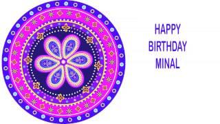 Minal   Indian Designs - Happy Birthday