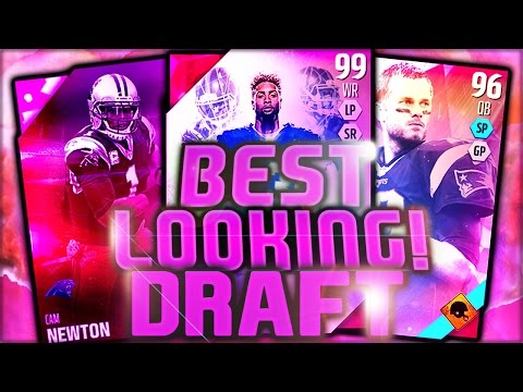 BEST LOOKING DRAFT! | TOO MANY ELITES!! MADDEN 16 DRAFT CHAMPIONS