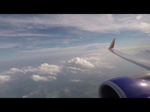 Southwest Airlines 737-800 Takeoff from Columbus, OH