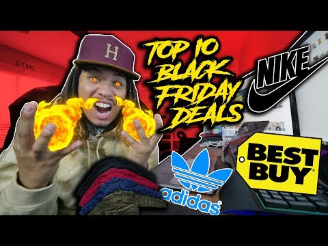 TOP 10 BLACK FRIDAY STEALS AND DEALS FOR SNEAKERS, CLOTHING, AND TECH 2017