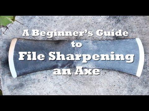 Axe School: A Beginner's Guide to File Sharpening an Axe
