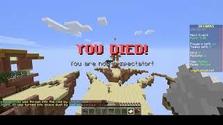 Primeiro vídeo do canal! Minecraft skywars.